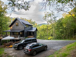 North Country Farmhouse: New construction located on 15 acres with private river