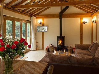 Luxury barn, hot tub, masseur, spa, pizza oven, bicycles