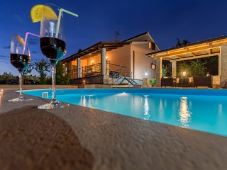 Villa Lucia with outdoor swimming pool and peaceful surroundings