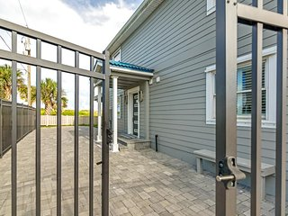NEW LISTING! Stunning, waterfront home located just steps from the beach!