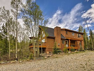 'Among the Aspens' 3BR Fairplay Home w/Views!