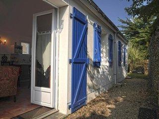 Maison indépendante avec jardin à 1 km du centre de Le Palais.