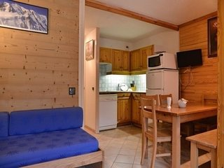 Appartement au pied des pistes composé de 2 pièces pour 5 personnes de 35 m²