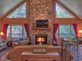 Getaway Log Cabin-Beautiful Views, Close to Breck