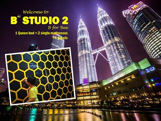 B'Studio 2 near KLCC (Maytower Hotel)