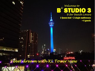 B'Studio 3 near KLCC (Maytower Hotel)