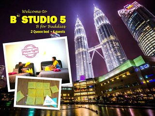 B'Studio 5 near KLCC (Maytower Hotel)