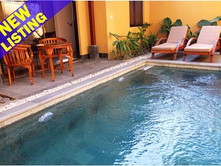 1 Bedroom Garden Pool Villa, 10 Minutes to Central Ubud;