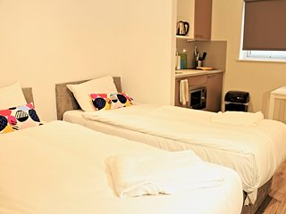 Comfortable studio featuring 24hr reception and fitness room (Apartment 434)