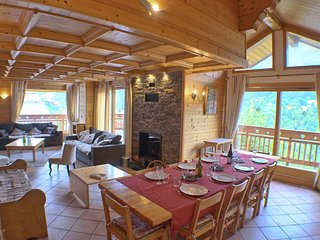 Charming chalet 14 people in the heart of Méribel