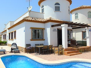 Villa Campo, El Raso - Villa with Private Pool, WiFi & UK TV