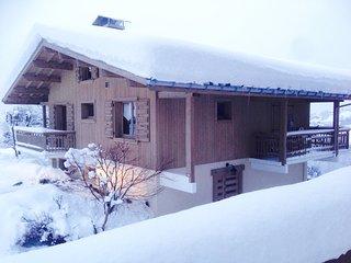 Appartement de charme  face au Mont Blanc