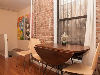 Perfect New York City getaway. SoHo 2BR duplex with premier location