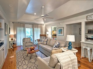 NEW! Quiet Kiawah Island Cottage on Sparrow Pond!