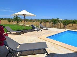 Casa de vacaciones Porto Cristo gran piscina Wifi vistas al mar 8 personas