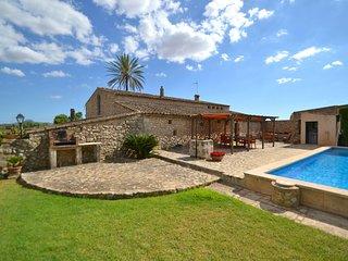 Casa de vacaciones Vilafranca Mallorca muy tranquila Piscina + Wifi 8 personas