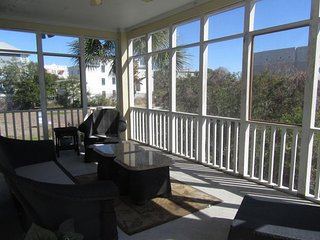 NEW LISTING! Charming oceanview home w/ shared pool & foosball near beach