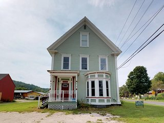 Recently updated historic duplex close to Okemo, skiing, dining, more!