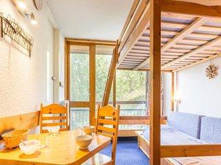 Deux pièces 4 personnes, avec balcon résidence Grand Arbois