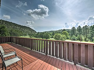NEW! Unique Ruidoso House - 3+ Private Acres!