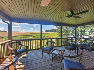 Calm Stewartstown Cottage on 90 Acres w/Event Barn