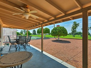 Upscale Sun City Home w/Patio on South Golf Course