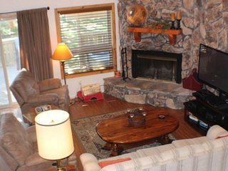 NEW LISTING! Dog-friendly condo w/fireplace & entertainment -close to ski, lakes