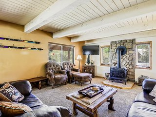 NEW LISTING! Large, riverfront home w/ deck & riverside firepit -near town