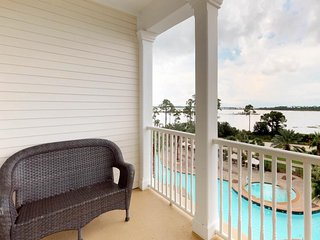 NEW LISTING! Bayview condo with shared pool, hot tub, and private balcony!