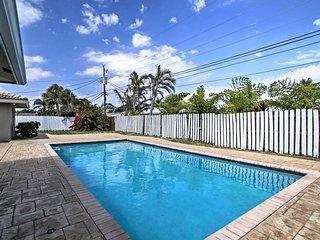 2 Master Suites Pompano Beach Pool Home