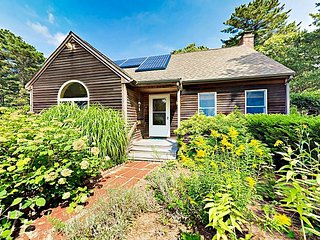 Serene Wooded 4BR w/ Spacious Deck & Rail Trail Access - Near Beach!