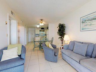 NEW LISTING! Bright beachfront retreat w/shared pool, hot tub and fitness center