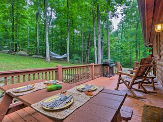 NEW! Private Waynesville Cabin w/1 Acre & Mtn View