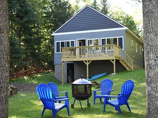 Blue Moose Cottage ~ Quaint Maine Cottage with lake views