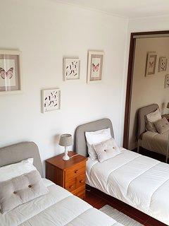 Bedroom #2 - two single beds (1st floor)