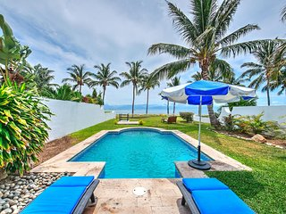 4a Direct Beachfront Single Level house Private Private Pool and Yard Quiet Area