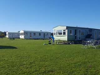 Holiday caravan/mobile home in Benderloch, near Oban