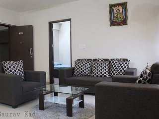 2BHK fully furnished lake facing apartment