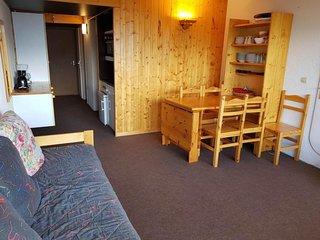Appartement 2 pièces 6 ersonnes à Arc 1600 en centre station et proche des piste