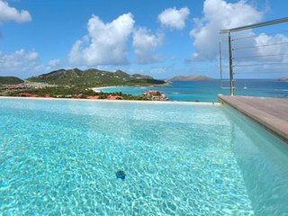 Villa Romana 3 Bedroom | Ocean View # Located in  Exquisite Saint Jean with Priv