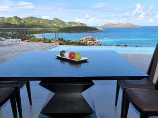 Villa Romana 4 Bedroom * Ocean View - Located in  Stunning Saint Jean with Priva