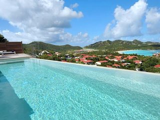 Villa Romana  * Ocean View - Located in  Stunning Saint Jean with Private Pool