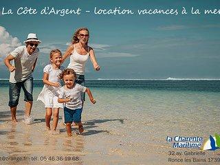 Location maison vacances à la mer - 7 chambres - Ronce les Bains / La tremblade