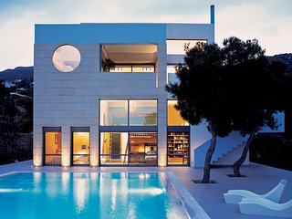 Minimal Blue Villa, East Attica