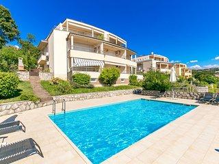 2 bedroom Apartment in Pobri, Primorsko-Goranska Zupanija, Croatia : ref 5633506