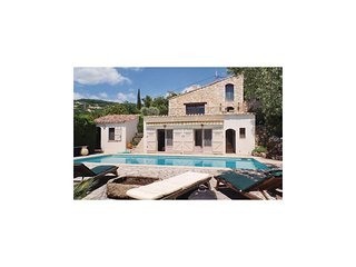 4 bedroom Villa in Seillans, Provence-Alpes-Cote d'Azur, France : ref 5628714