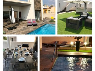 Villamartin - Modern 3 Bed Villa - Own Pool and Large Outside Area for Dining