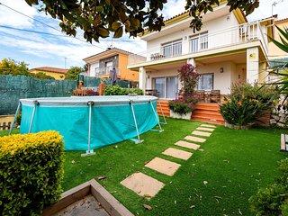 4 bedroom Villa in Premia de Dalt, Catalonia, Spain : ref 5627409