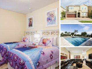 EC032-Fr2 10 Bedroom Luxury Villa Near Disney
