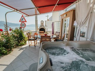 Villa 10 meters from sea with jacuzzi , sundecks, big table and BBQ